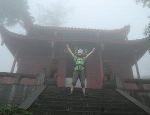 Chef on Mt Emei, China
