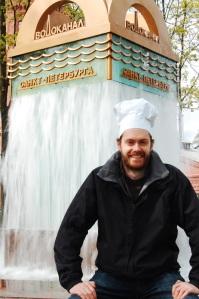 Chefs Hat- St Petersburg water museum - worst museum ever!