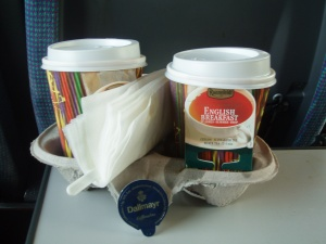 Tea on Berlin train
